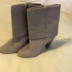 Gap faux leather boots in beige
